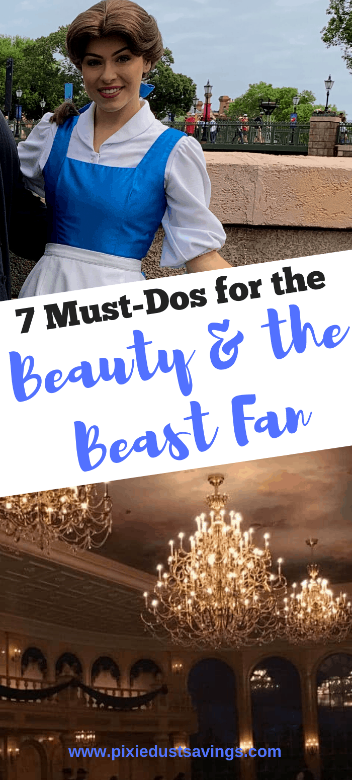 7 Must Dos for Beaut And Beast Fans at Disney World