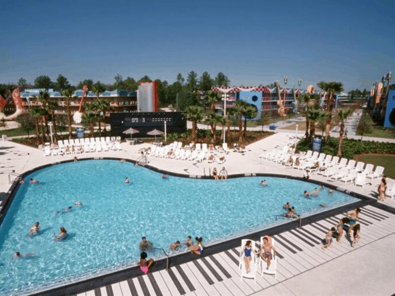 Piano Pool, All Star Music Resort
