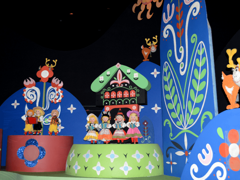 It's a Small World Scene by Mary Blair