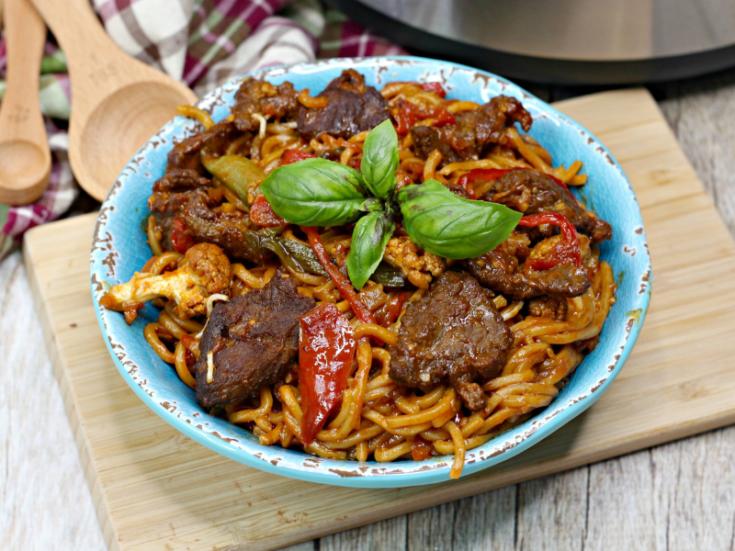 Korean BBQ Noodles