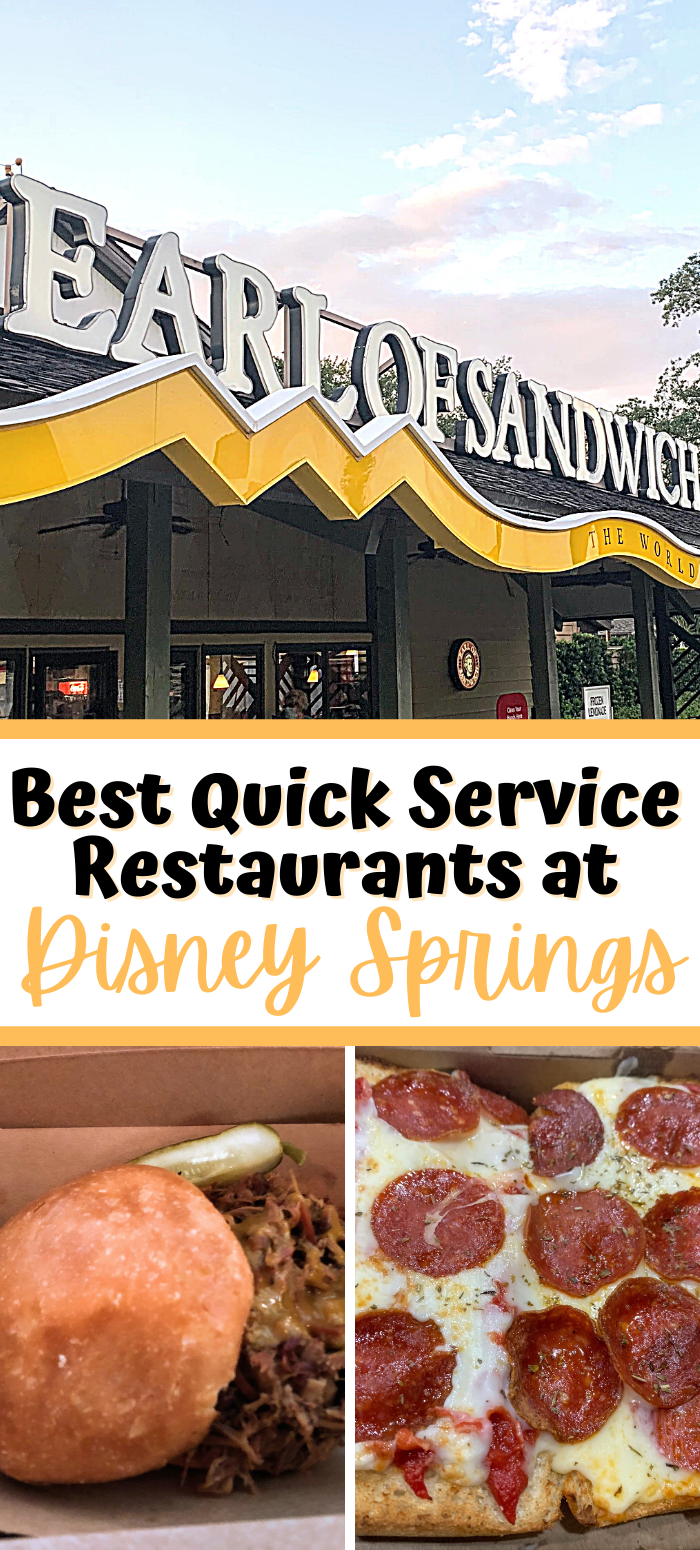 Best Disney Springs Quick Service Restaurants