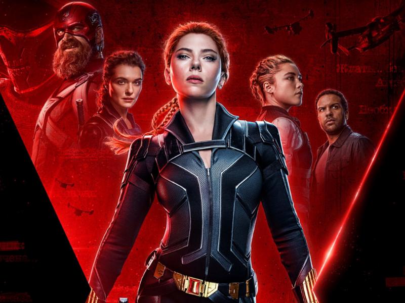 Black Widow 2021 movie poster