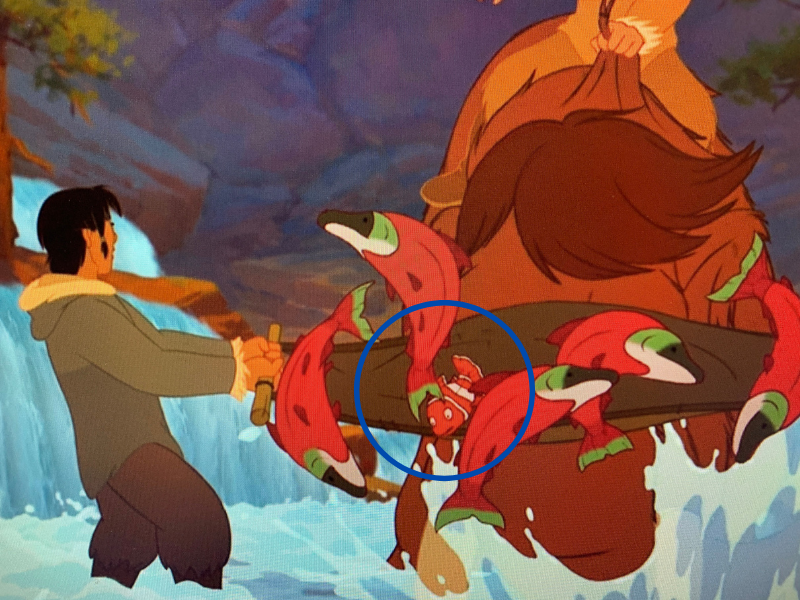 finding Nemo in Brother Bear
